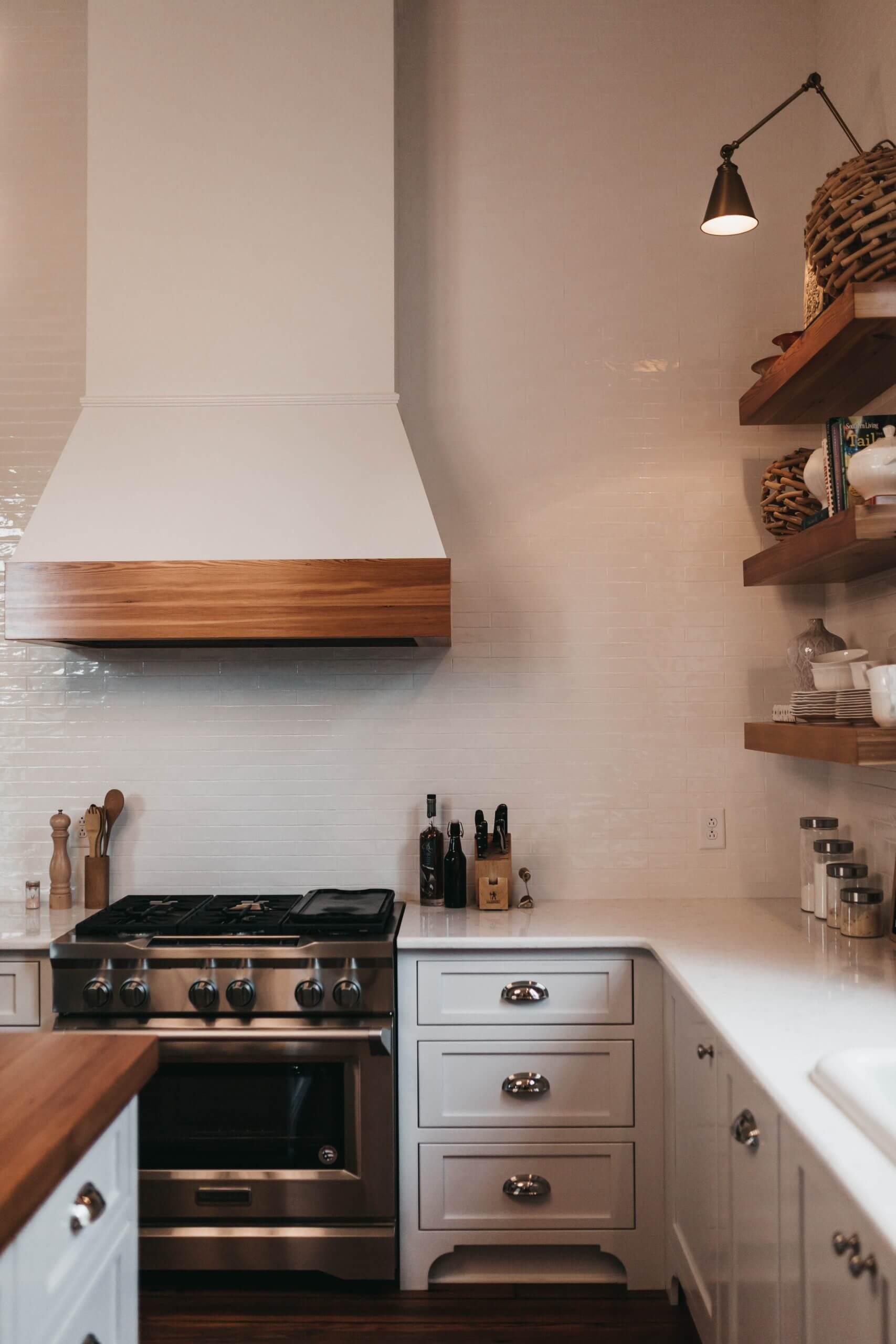 custom kitchen renovation project
