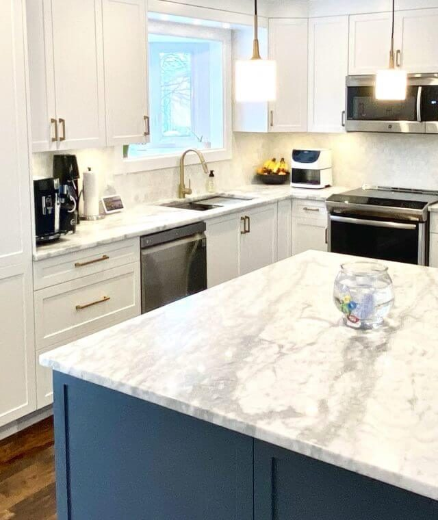 small kitchen renovation for cabinets